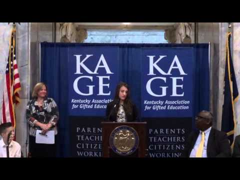 Gifted Education Month in Kentucky