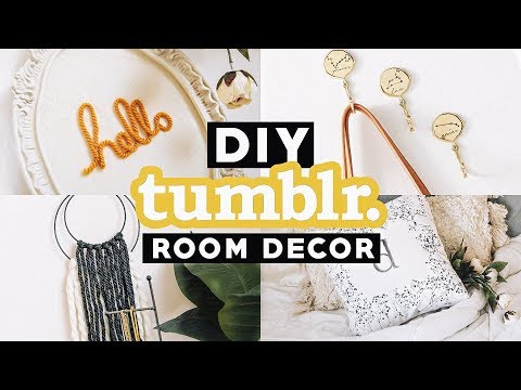 Easy DIY Tumblr Inspired Room Decor for SPRING 2018 - Minimal + Trendy // Lone Fox 🦊