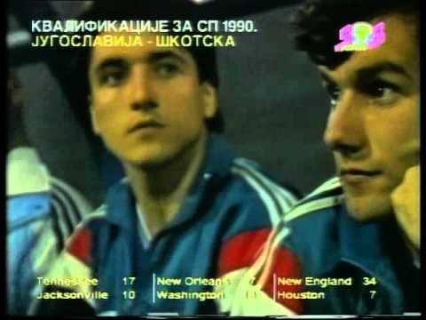 Kvalifikacije za SP 1990 Jugoslavija - Škotska 3:1