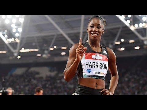 Kendra Harrison Ties American Record 7.72
