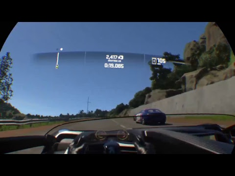 PlayStation VR Driveclub VR Gameplay