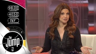 """Rachel Nichols kicks off The Jump by asking, """"what does LeBron Jame..."""