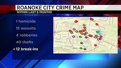 Looking at Roanoke city crime
