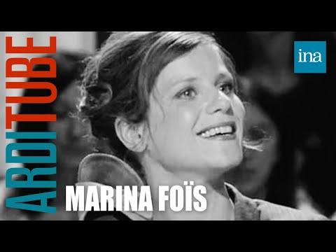 "Marina Foïs ""Interview pétasse"" - Archive INA"