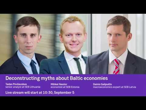 Deconstructing myths about Baltic economies