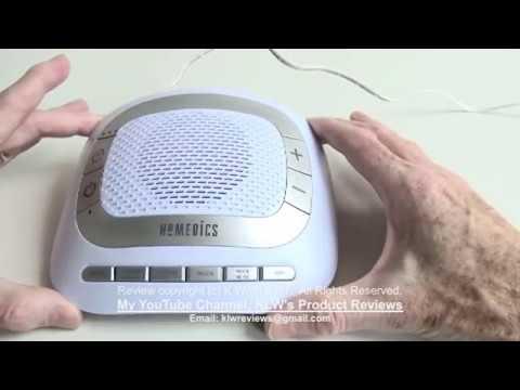 Review of Homedics Sound Spa Rejuvenate white noise ...