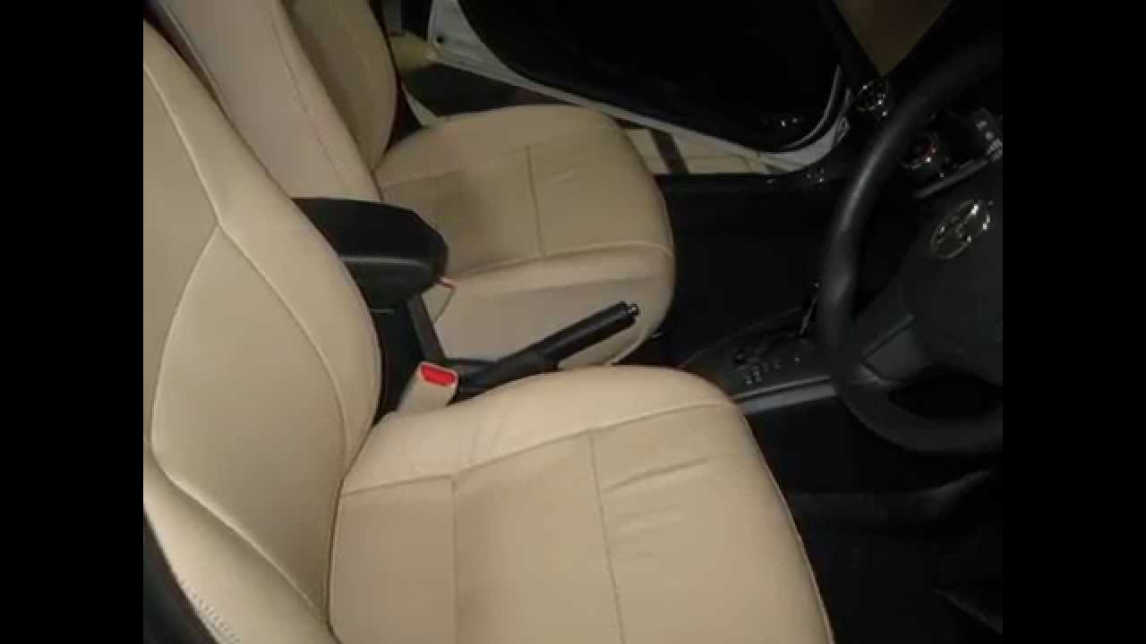 Toyota Axio 2013 Model Leather Seat Covers