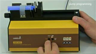 Syringe pump - infusion pump LAMBDA VIT-FIT, precise and high-pressure syringe pumps, syringe driver