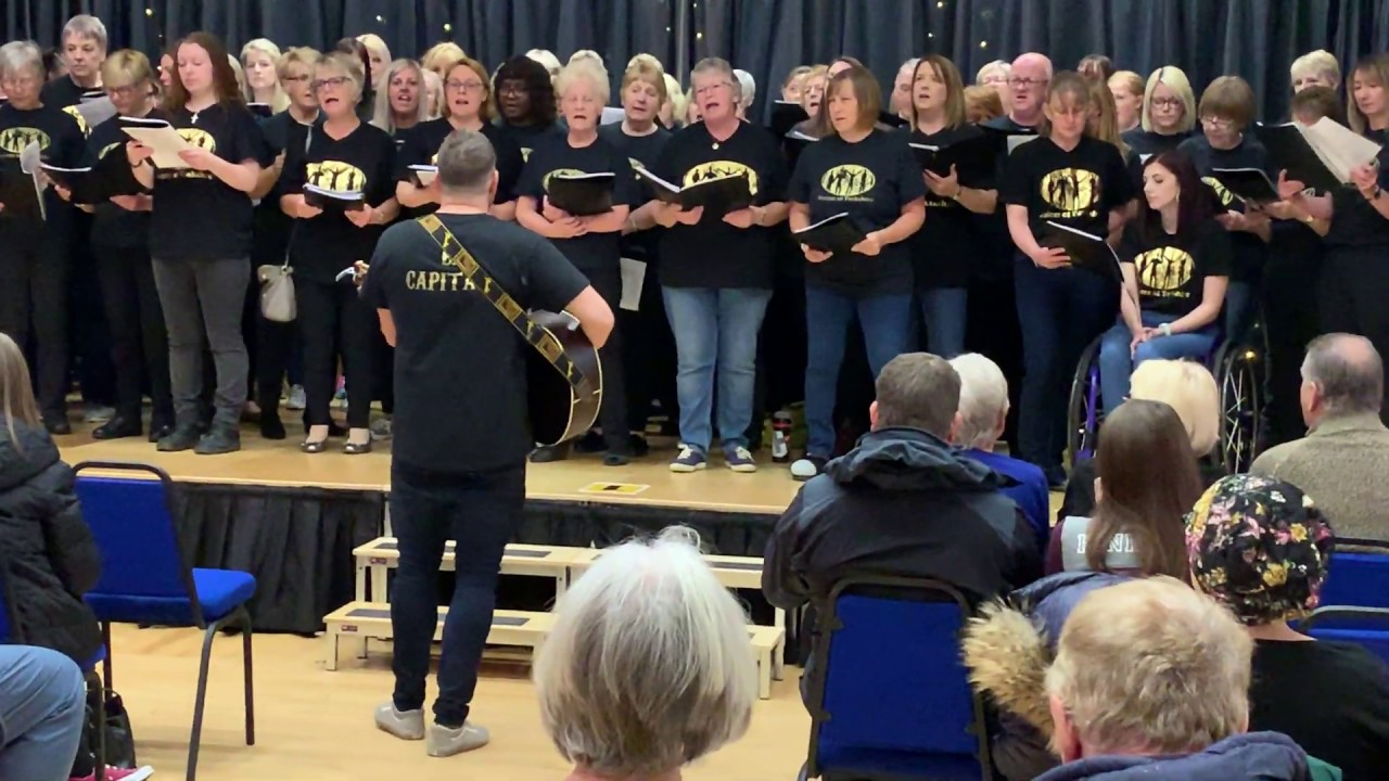 Voices of Yorkshire Sing at Silsden Town Hall
