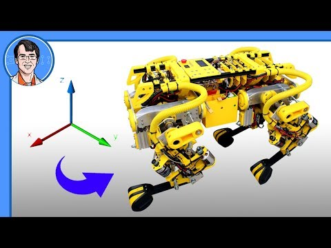 openDog Dog Robot #17 | Experiments with Interpolation | James Bruton from YouTube · Duration:  16 minutes 2 seconds