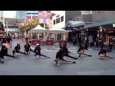 K-Pop Star Australia (Music Academy) Flashmob in Chatswood