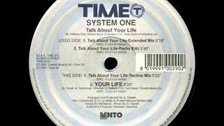 System One - Talk about your life (Extended Mix)