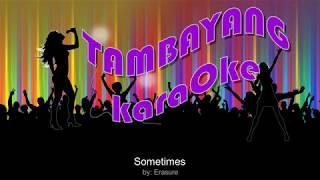 Sometimes by Erasure  TambayangKaraOke
