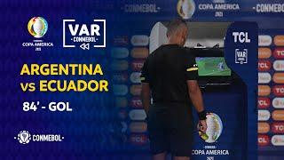 Copa América | Revisión VAR | ARGENTINA vs ECUADOR | Minuto 84