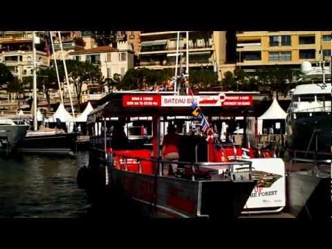 Monaco port solar boat taxi shuttle
