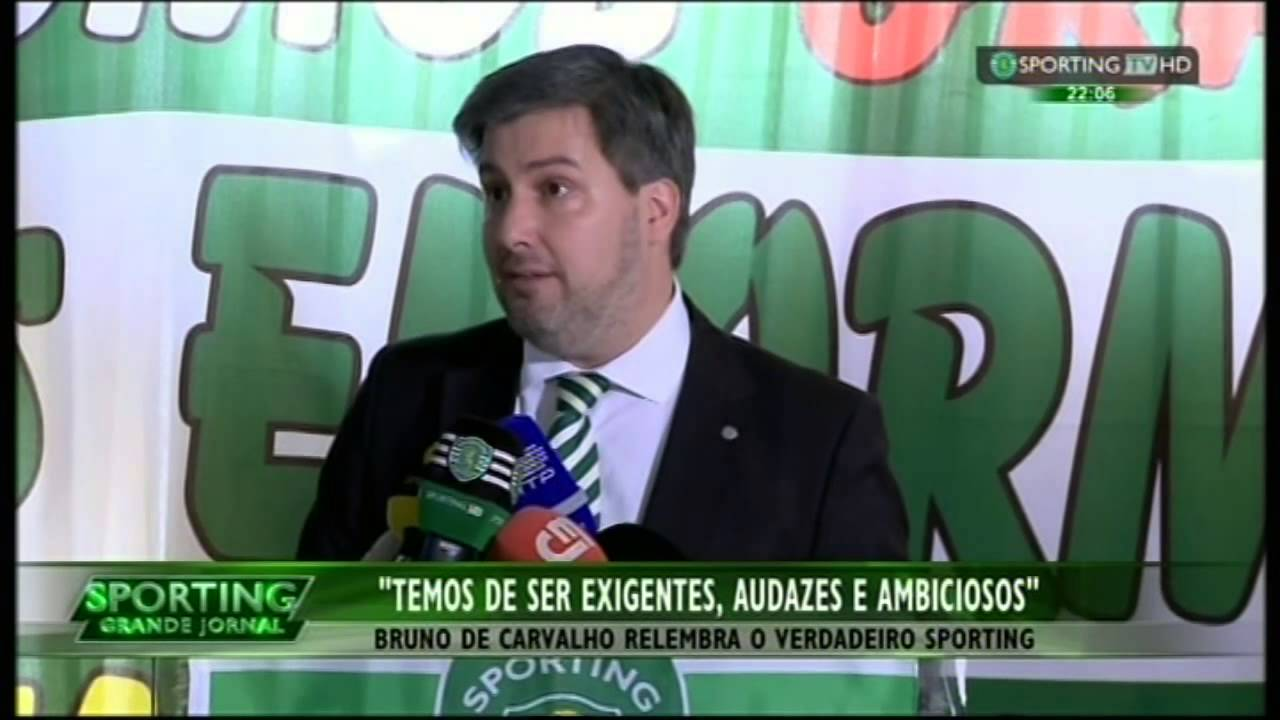 Manifesto de Alenquer :: Bruno de Carvalho e o regresso do «crónico» a 07/06/2015