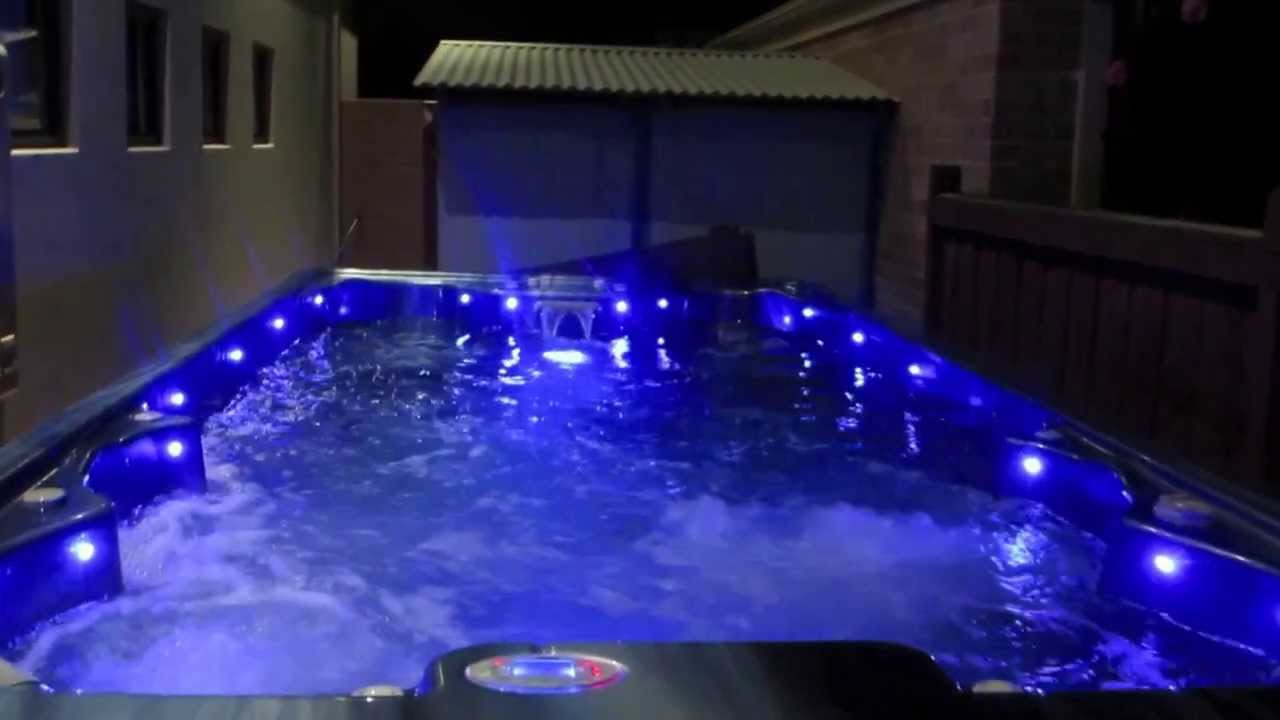 Swim spa for sale youtube for Pool and spa show usa