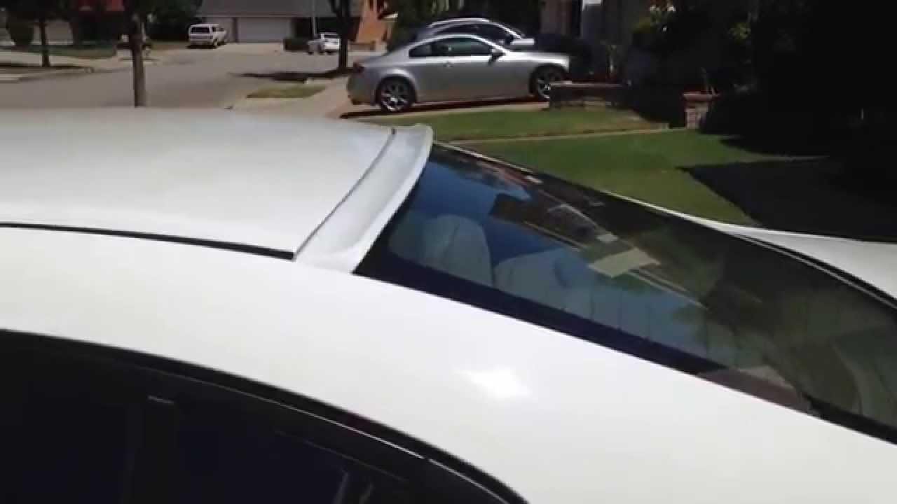 Honda civic 9th sedan roof spoiler extreme