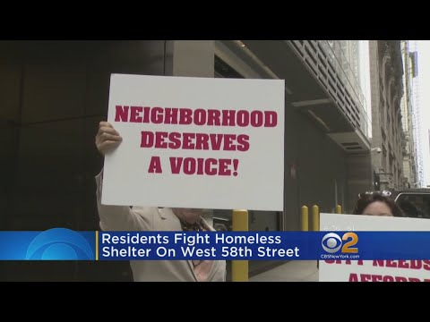 Residents Fight Homeless Shelter on West 58th Street