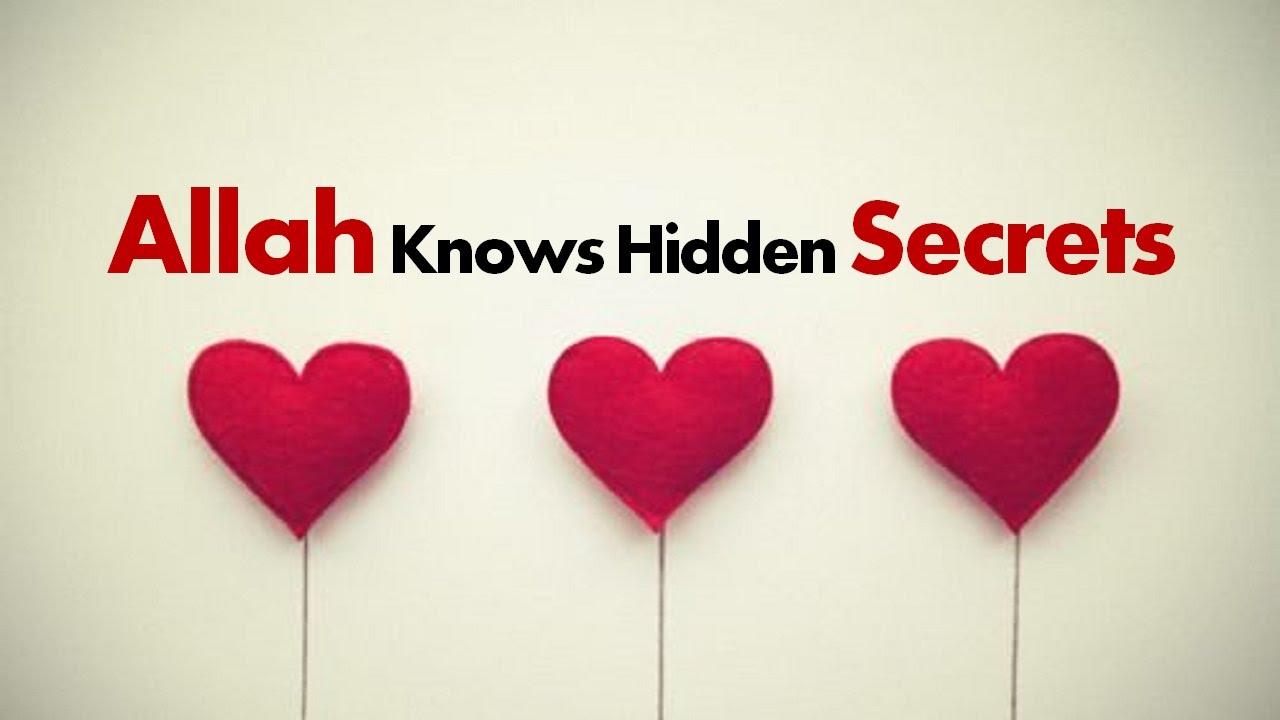 Allah Knows Hidden Secrets - A Warning!!! Nouman Ali Khan