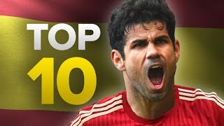 Top 10 Most Expensive Spanish Signings