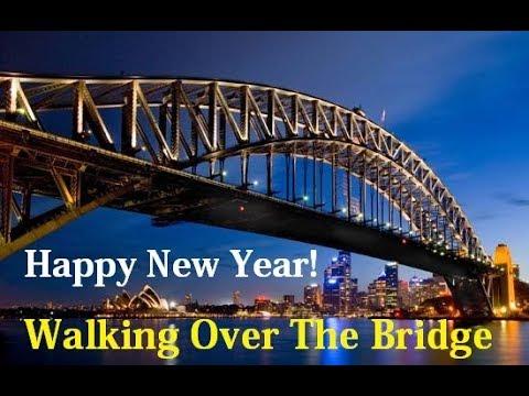 Sydney Harbour Bridge New Years Morning run across!