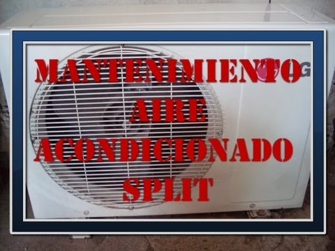 Mantenimiento aire acondicionado split youtube for Mantenimiento aire acondicionado split