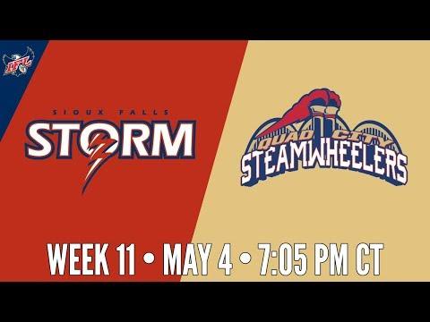 IFL Week 11 | Sioux Falls Storm at Quad City Steamwheelers