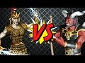 Heroes of Might and Magic III. Titan VS Arch devil