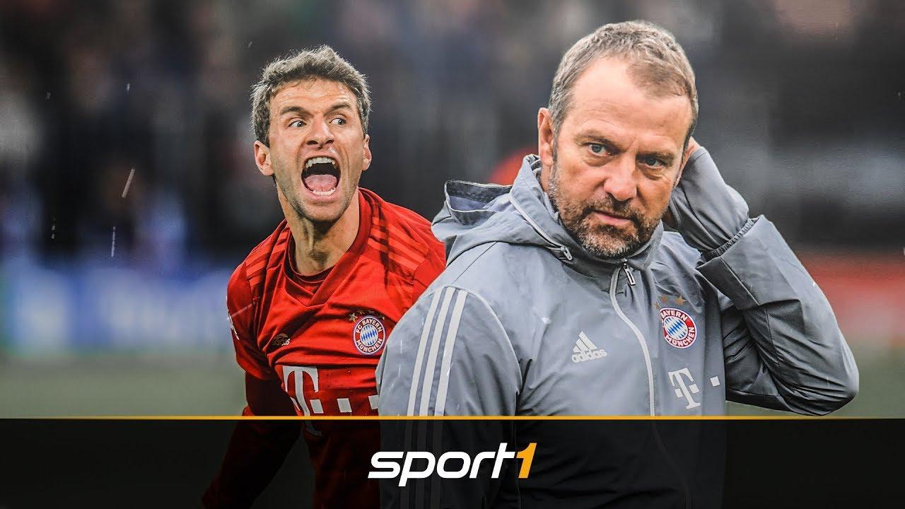 Vor BVB: Flicks gefährliches Spiel mit Müller | SPORT1