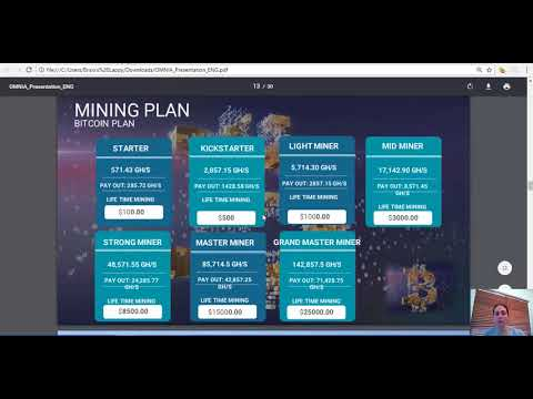Omnia Tech, How To Earn From Mining Bitcoin English