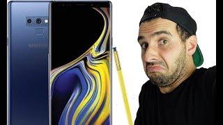 Le problème avec le Galaxy Note 9