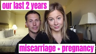 Our last 2 years with miscarriage and pregnancy + shawn johnson and andrew east