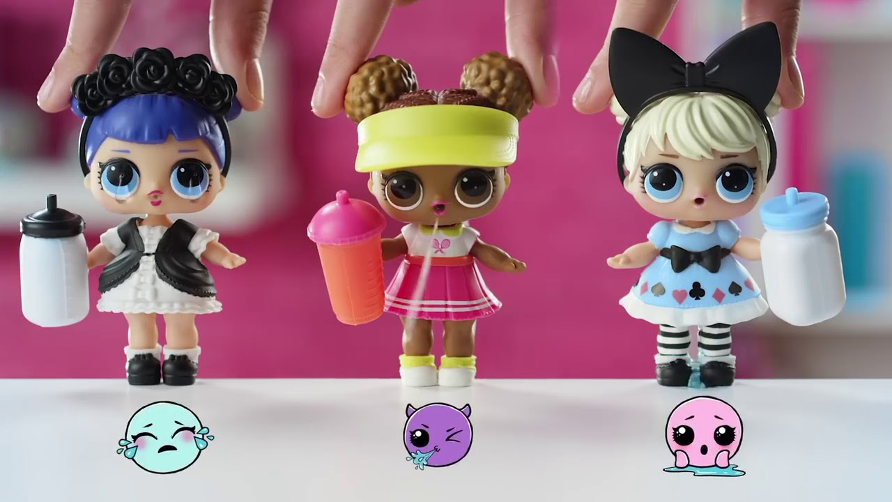 кукла сюрприз Lol сестренка Lil Sisters в шарике