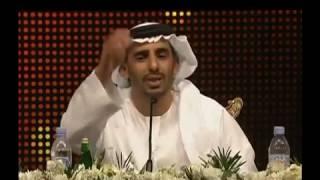 الشاعر سعيد بن درى الفلاحى مع الشيخ حمدان بن محمد بن راشد, قصيده والله لو بتم