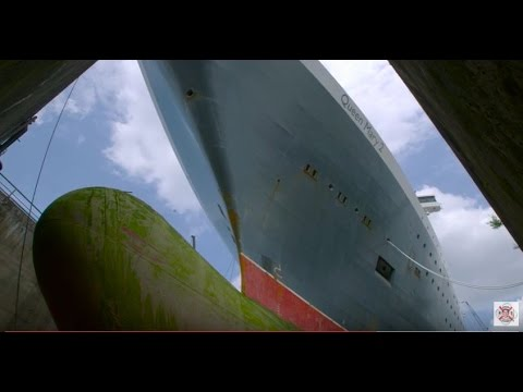 Cunard Line's Queen Mary 2 Refit