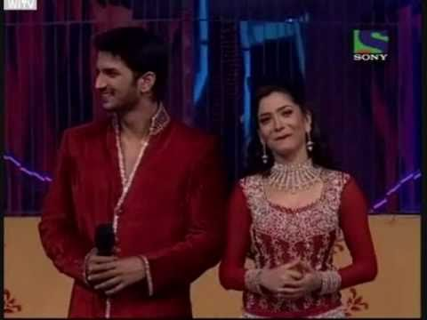 Sushant & Ankita's introduction performance - 12th December 2010