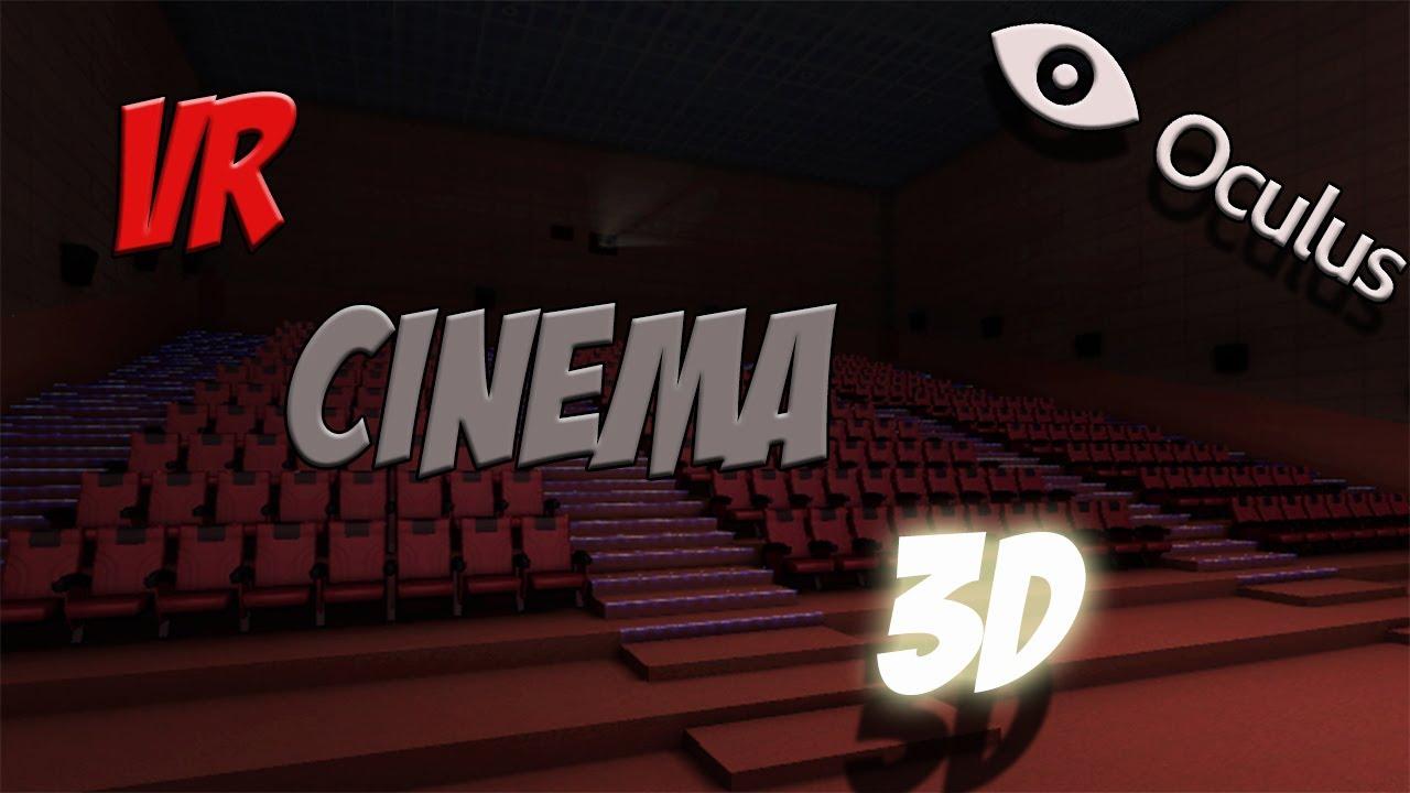 VR Cinema 3D w/ Oculus Rift - AWESOMENESS! - YouTube