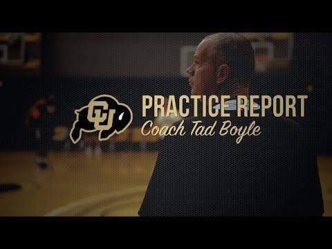 PRACTICE REPORT: Tad Boyle (10/6/17)