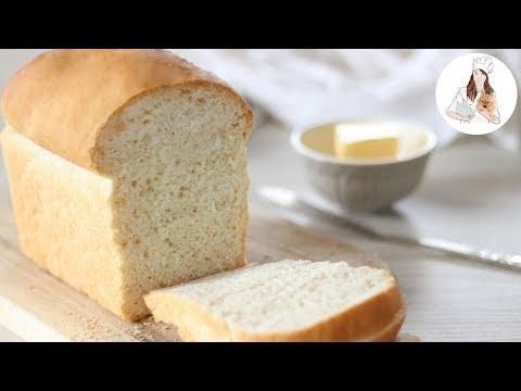 White Bread Recipe   How To Make Bread