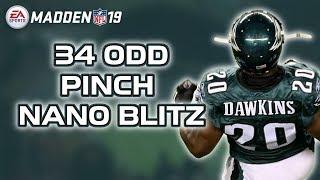 NANO BLITZ - 34 ODD: Pinch Dog 2 Press - Madden 19 Tips