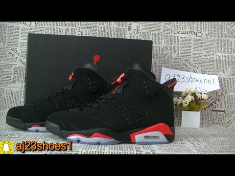 Air Jordan 6  Infrared  2019 Unboxing HD review from aj23shoes net ... 8917167e6