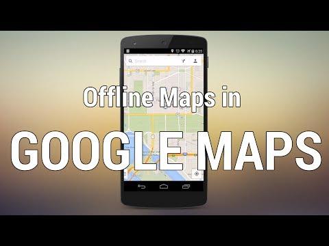 Saving A Map Offline In Google Maps