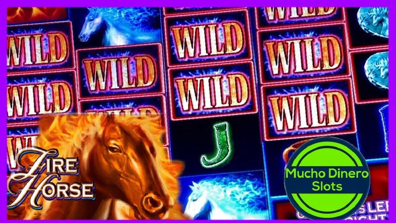FIRE HORSE SLOT JACKPOT/ HIGH LIMIT SLOT PLAY/ MUCHO DINERO/ MAX BETS/ LIMITE ALTO