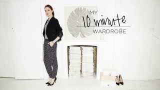 My 10 Minute Wardrobe - Printed Pants Thumbnail