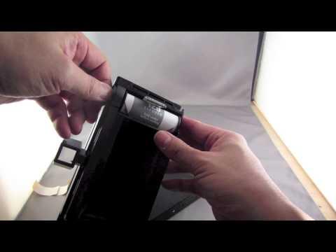 Lomography Belair Camera - Film Unloading