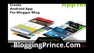 Convert Blogger to Android App