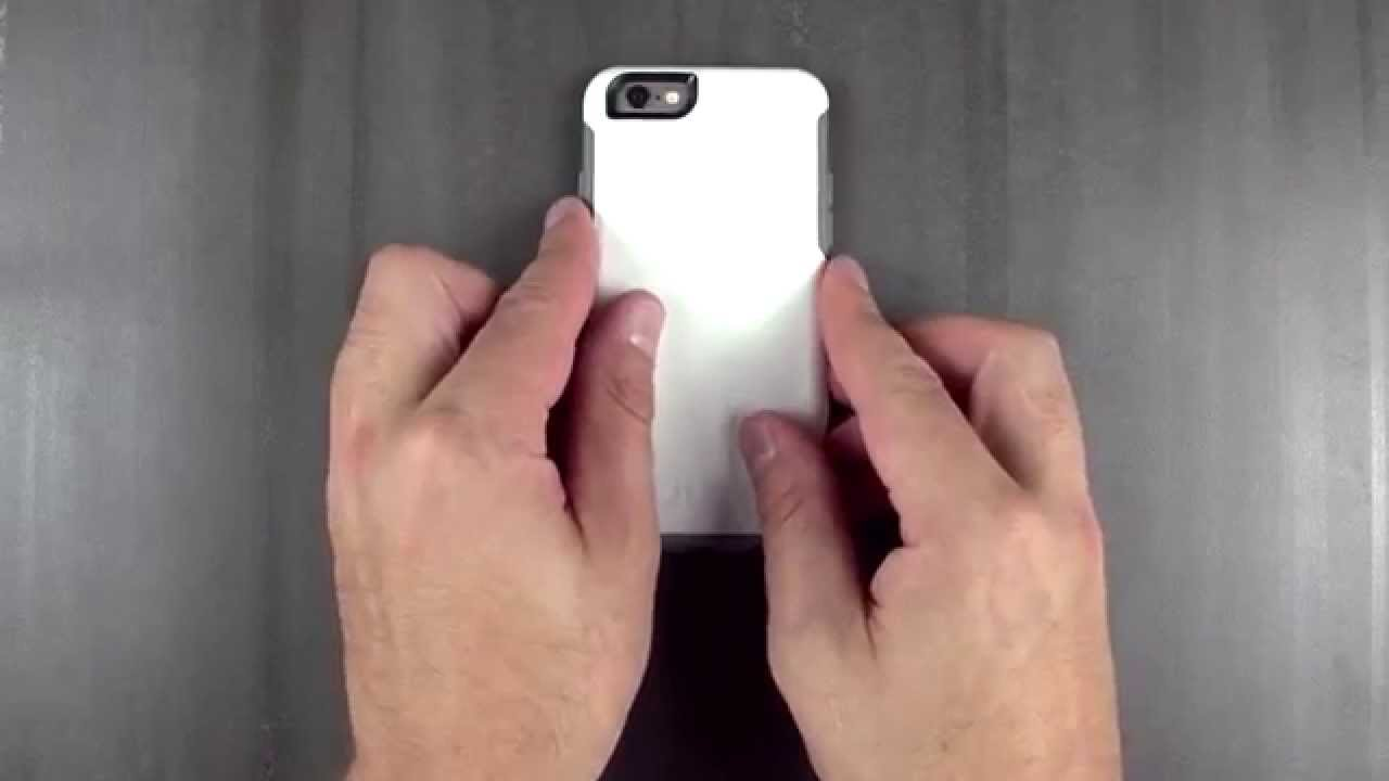 buy online f9c92 a8ed1 iPhone 6 Symmetry Series case instructions | OtterBox APAC