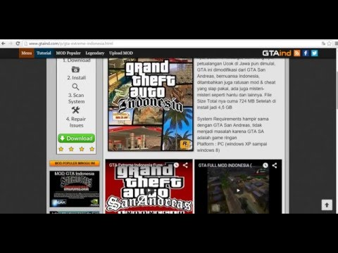 Cara Download GTA Extreme Indonesia