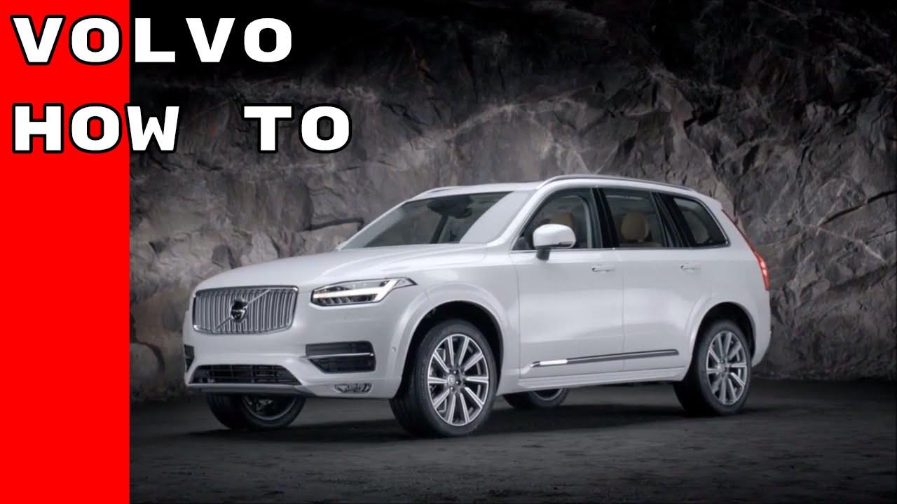 How To Volvo Auto Start Stop Keyless Entry Lock Settings Valet Viper 591xv Can39t Program Remote Locking
